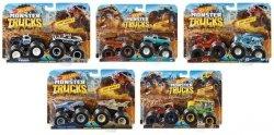 Mattel Hot Wheels Monster Trucks Pojazd 1:64 2-pak Ast.