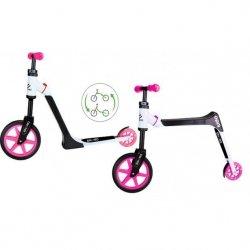 Hulajnoga / Rowerek Biegowy 2W1 Kido Różowa