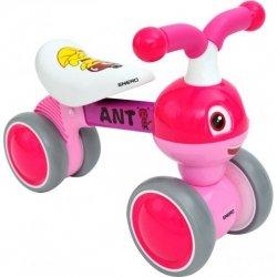 Rowerek Biegowy Jeździk Enero Różowy  Mrówka