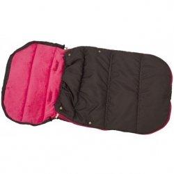 Śpiworek Zimowy Dla Dzieci 90X45Cm Polar Fuksja / Antracyt