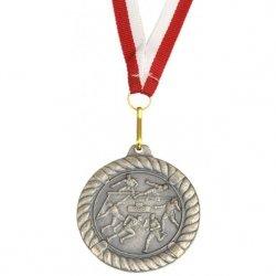 Medal Promo 50Mm Lekkoatletyka Srebrny 268667