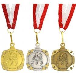 Medal Promo Judo/Karate Złoty Kwadrat 268711