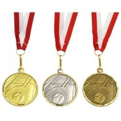 Medal Promo 40Mm Tenis Ziemny Brązowy 269022