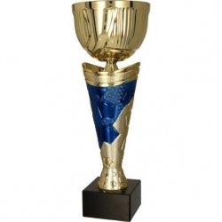 Puchar Metalowy Złoto-Niebieski 4171C