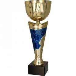 Puchar Metalowy Złoto-Niebieski 4171F