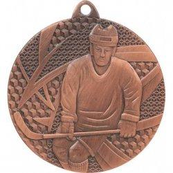 Medal Brązowy- Hokej - Medal Stalowy