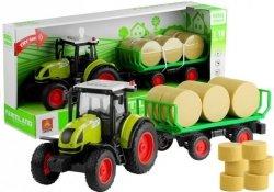 Traktor z Przyczepką z Sianem Świeci Gra 37,5 cm