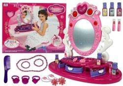 Różowa Toaletka z Dźwiękami i Światełkami