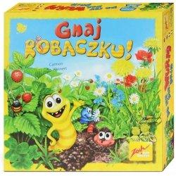 Gra Planszowa Gnaj Robaczku ZOCH Dla Dzieci 4 Graczy