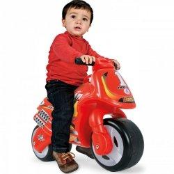Jeździk Motorek Biegowy Pchacz Neox Racer Czerwony + Bramka GRATIS