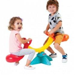 Fisher Price Huśtawka równoważna ogrodowa dla dzieci dwuosobowa