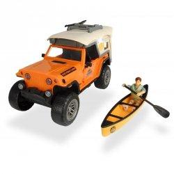 Dickie Play Life - Zestaw Prawdziwy Camping  Samochód Jeep + Akcesoria
