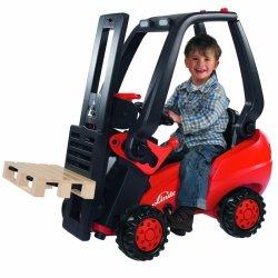 BIG Wózek Widłowy Linde Forklift