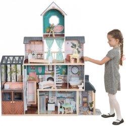 Kidkraft Ogromny Drewniany Domek Dla Lalek Celeste Mansion