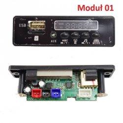 Panel z modułem dźwiękowym  różne rodzaje