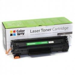ColorWay Toner Cartridge, Black, HP CB435A/CB436A/CE285A; Canon 712/713/725