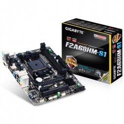 Gigabyte GA-F2A68HM-S1 1.1 Processor family AMD, Processor socket FM2+, DDR3 DIMM, Memory slots 2, Chipset AMD A, Micro ATX