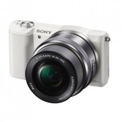 Sony ILCE5100LW.CEC Body + 16-50mm lens Mirrorless Camera Kit, 24.3 MP, ISO 25600, Display diagonal 7.62 , Video recording, Wi-