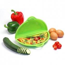 Yoko Design Omelette maker Green, Dishwasher proof