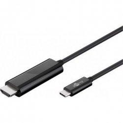 Goobay USB-C HDMI adapter cable (4k 60 Hz) HDMI adapter, 1.8 m, Black