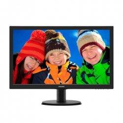 Philips 243V5LHSB/00 23.6 , TFT-LCD, Full HD, 1920 x 1080 pixels, 16:9, 1 ms, 250 cd/m², Black