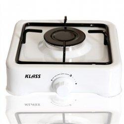 Klass Cooker K 01 S Number of burners/cooking zones 1, White, Gas