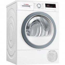 Bosch Dryer mashine WTR85VS8SN Condensed, Sensitive dry, 8 kg, Energy efficiency class A++, Self-cleaning, White, LED, Depth 60