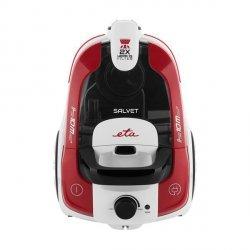 ETA Vacuum Cleaner SALVET Bagless, Red/ black/ white, 700 W, 2.2 L, A, A, C, B, 70 dB, HEPA filtration system, 230 V