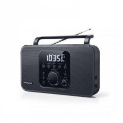 Muse Radio M-091R Black, AUX in, Alarm function