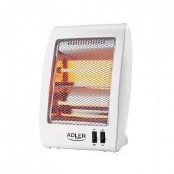Adler Halogen Heater AD 7709 Halogen, Number of power levels 2, 400 / 800 W, White