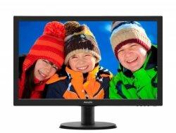Philips 243V5LSB/00 23.6 , TFT-LCD, Full HD, 1920 x 1080 pixels, 16:9, 5 ms, 250 cd/m², Black