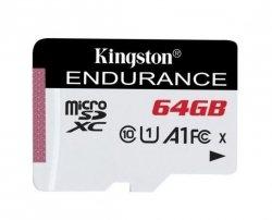 Kingston Endurance UHS-I U1 64 GB, micro SDXC, Flash memory class 10
