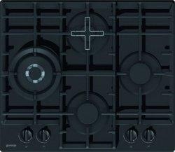 Gorenje Hob GTW6D41B Gas, Number of burners/cooking zones 4, Black,