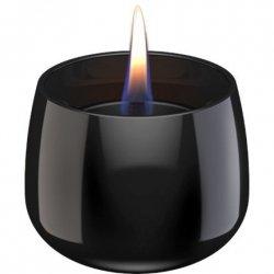 Tenderflame Table burner Crocus 1W Glass Diameter 9.5 cm, 7.5 cm, 200 ml, 8 hours, Black