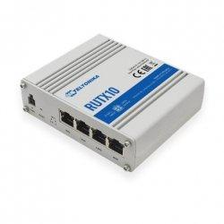 Teltonika Industrial Router RUTX08 No Wi-Fi, 867 Mbit/s, 10/100/1000 Mbit/s, Ethernet LAN (RJ-45) ports 4, 1, Bluetooth LE