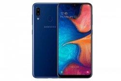 Samsung Galaxy A20e Blue, 5.8 , PLS TFT, 720 x 1560, Exynos 7884, Internal RAM 3 GB, 32 GB, microSD, Dual SIM, Nano-SIM, 3G, 4G