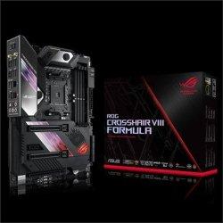 Asus ROG Crosshair VIII Formula Processor family AMD, Processor socket AM4, DDR4, Memory slots 4, Chipset AMD X, ATX