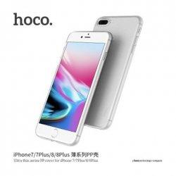 Hoco. Ultra thin series Case, Apple, iPhone 7 Plus/8 Plus, PP, Transparent