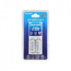 Eneloop Basic charger K-KJ50MCC20E + 2 AA batteries (1900mAh) Panasonic K-KJ50MCC20E Ni-MH, Kit contents 2 x AA rechargeable