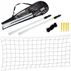 Zestaw Badminton Siatka i Słupki Enero 700