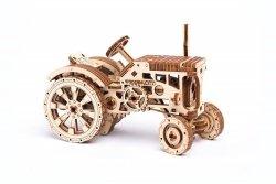 Drewniane puzzle mechaniczne 3D Wooden.City - Traktor #T1