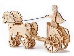 Drewniane puzzle mechaniczne 3D Wooden.City - Rydwan #T1