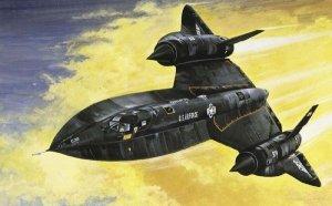 Italeri ITALERI SR-71 Blackbird with Drone