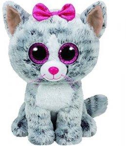 Meteor Maskotka TY Beanie Boos Kiki - Kot, 24 cm