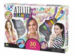 Dromader Atelier Glamour Kolorowe włosy i ciało