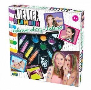 Dromader Atelier Glamour Kolorowe włosy i tatuaże