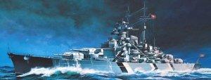 Academy Pancernik Bismarck 1/800