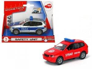 Dickie Pojazd SOS Safety Unity, 2 rodzaje