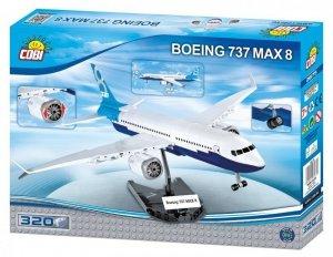 Cobi Klocki Klocki 320 elementów Boeing 737 Max 8