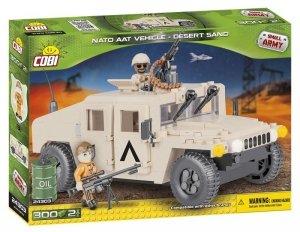 Cobi Klocki Klocki Small Army NATO Armored ALL-Terrain Vehicle Desert Sand